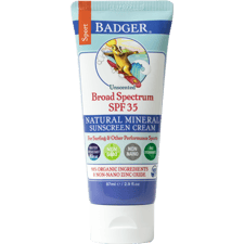 Sport Sunscreen Cream SPF 35 Unscented 2.9 fl oz