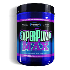 Gaspari Nutrition スーパーポンプマックスグレープクーラー 639g