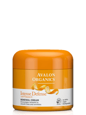 Avalon Organics ビタミンCリニューアルクリーム入りインテンス ディフェンス  57 g