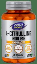 Now Foods L-シトルリン エクストラ ストレングス 1,200 mg  120 錠
