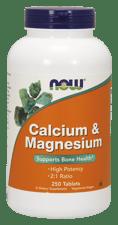 Now Foods カルシウム & マグネシウム 250 錠