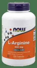 Now Foods Lアルギニン 500 mg 250 カプセル