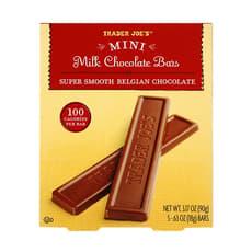 Trader Joe's ミニ ミルクチョコレートバー 90 g 5 個入り