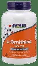 Now Foods  Lオルニチン 500 mg 120 ベジカプセル
