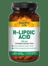 Country Life R-リポ酸 100 mg 60ベジカプセル