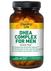 Country Life 男性のためのDHEA複合体 60ベジカプセル