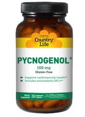 Country Life ピクノジェノール 100 mg 30ベジカプセル