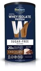 Biochem Sports 100% ホエイプロテイン シュガーフリーチョコレート 355g