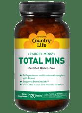 Country Life トータル ミンズ ホウ素入りマルチミネラル複合体 120錠