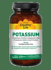 Country Life カリウム 99 mg 250錠