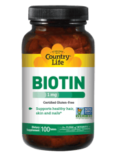 Country Life ビオチン 1 mg 100錠