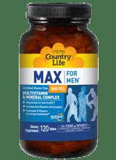 Country Life Max for Men マルチビタミン & ミネラルコンプレックス 120錠