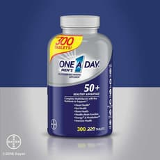 One A Day Mens 50+ Healthy Advantage Multivitamin 220 Tablets
