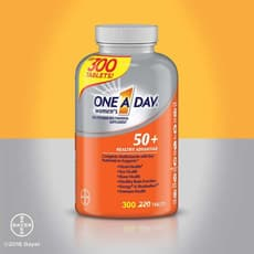 One A Day Womens 50+ Healthy Advantage Multivitamin 300 Tablets
