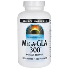 Source Naturals メガ-GLA 300 120ソフトジェル