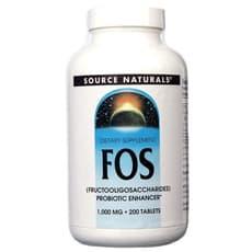 Source Naturals FOS 1,000 mg 200錠