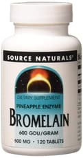 ソースナチュラルズ ブロメライン500 mg 120タブレット