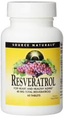 Source Naturals レスベラトロール 40 mg 60 錠