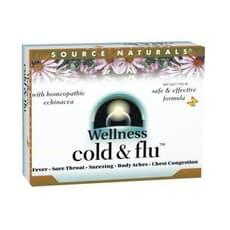 Source Naturals ウェルネスコールド&インフルエンザ 48錠