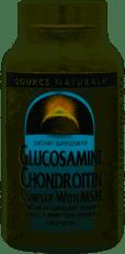 Source Naturals グルコサミンコンドロイチンとMSMの複合体 120錠