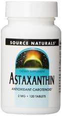 Source Naturals アスタキサンチン 2 mg 120錠
