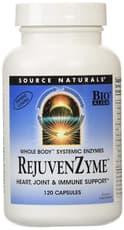 Source Naturals RejuvenZyme 120 カプセル