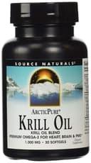 Source Naturals 北極の純粋なオキアミ油 1,000mg 30ソフトジェル