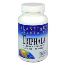 Planetary Herbals トリファラ 1,000 mg 90 タブレット