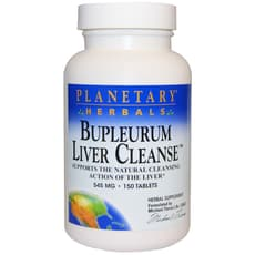 Planetary Herbals Bupleurum Liver Cleanse 545 mg 150 Tablets