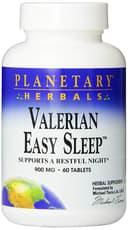 Planetary Herbals Valerian Easy Sleep 900 mg 60 Tablets