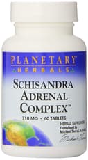Planetary Herbals Schisandra Adrenal Complex 710 mg 60 Tablets
