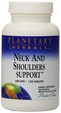 Planetary Herbals Neck and Shoulders Support 650 mg 120 Tablets