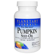 Planetary Herbals Pumpkin Seed Oil Full Spectrum 1,000 mg 90 Softgels