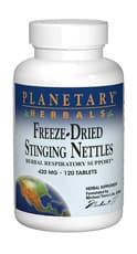 Planetary Herbals Stinging Nettles Freeze-Dried 420 mg 120 Tablets