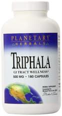 Planetary Herbals Triphala 500 mg 180 Capsules
