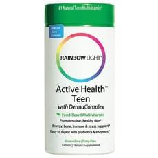 Rainbow Light アクティブな健康ティーン 90錠