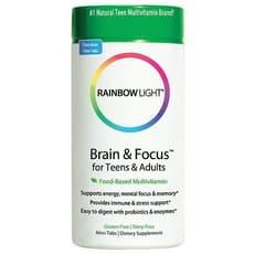 Rainbow Light 脳と集中力のためのマルチビタミン 90錠