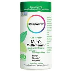 Rainbow Light 認定された男性用マルチビタミン 120 ベジカプセル