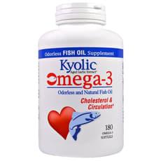 Kyolic Omega -3 180 Softgels