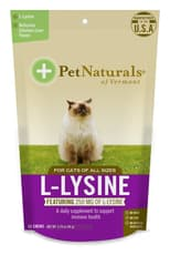 Pet Naturals of Vermont L-Lysine for Cat 60 Chews