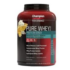 Champion Nutrition ピュアホエイプラスプロテイン バナナクリームパイ 2.2 kg