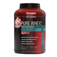 Champion Nutrition ピュアホエイプラスプロテイン ストロベリー サンデー 2.2 kg