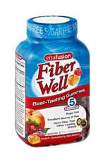 Vitafusion Fiber Well Sugar Free Gummies 90 Gummies