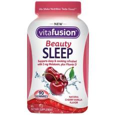 Vitafusion ビューティースリープ チェリーバニラフレーバー 90 グミ