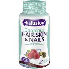 Vitafusion Gorgeous Hair Skin & Nails 135 Gummies