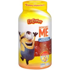 L'il Critters Minions Multivitamin Strawberry Banana & Orange 190 Gummies