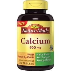 Nature Made カルシウム 600mg 220タブレット