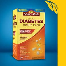 Nature Made Diabetes Health Pack 60 Pakcets