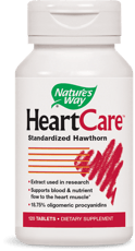 Nature's Way HeartCare ハートケア サンザシエキス 120錠