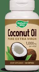 Nature's Way ココナッツオイル ピュアエクストラバージン 1,000 mg 120 ソフトジェル